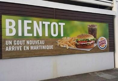Burger King arrive en Martinique avec Servair